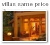 villas in a similar price range