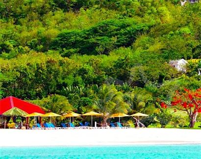 Bequia Rental Villas, Hotels & Apartments - Private Grand Anse Beach Resort - Grenada - Grand Anse Beach
