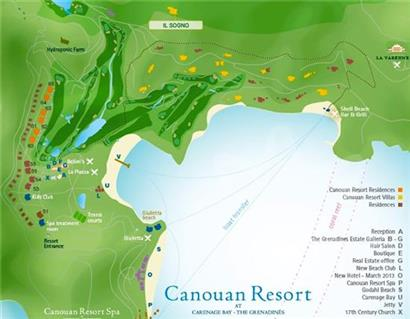 Bequia Rental Villas, Hotels & Apartments - Il Sogno Villa - Canouan - Myshore Bay