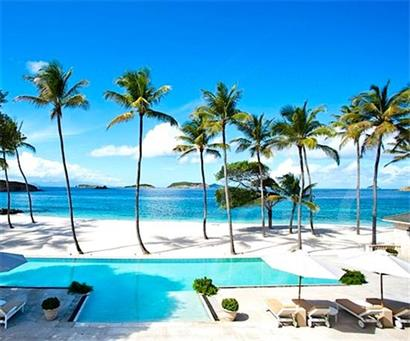 Bequia Rental Villas, Hotels & Apartments - Palm Beach Villa - Mustique - LAnescoy Bay