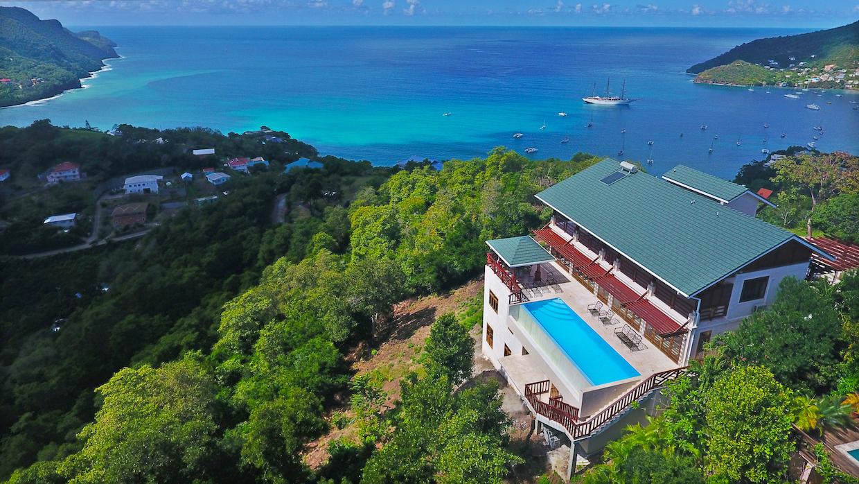 Sunbird - Accommodation - Grenadine Island Villa Rentals, Hotels ...