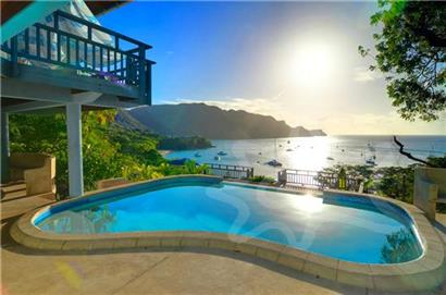 Shade of Blues House - Grenadine Island Villa Rentals, Hotels & Apartments - Princess Margaret - Bequia, St Vincent & the Grenadines