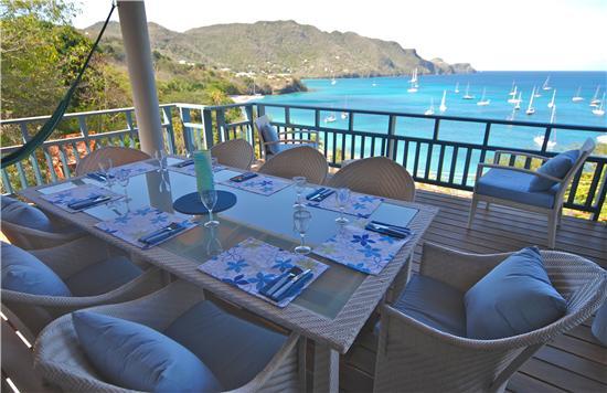 Shade of Blues House - Grenadine Island Villa Rentals, Hotels & Apartments - Princess Margaret - Bequia, St Vincent & the Grenadines