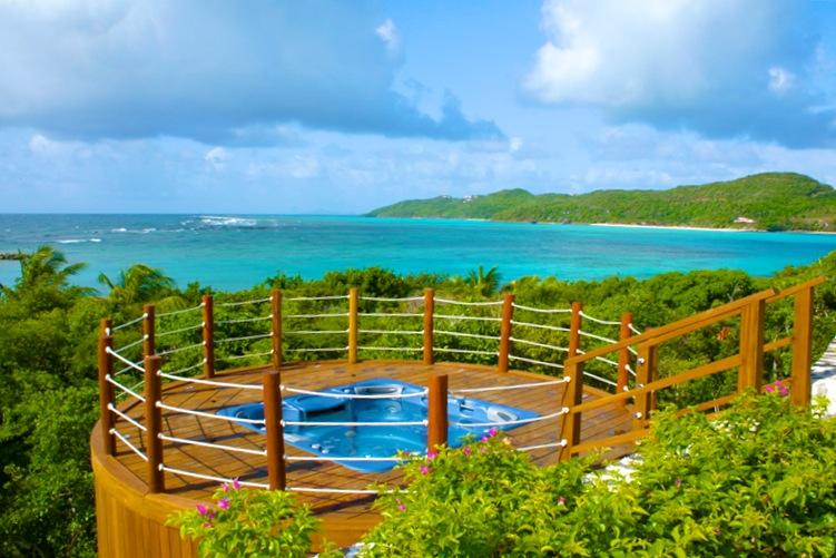 Bequia Rental Villas, Hotels & Apartments - Big Blue Ocean - Luxury Beachfront Villa - Canouan - 5 Bedrooms Morpiceax Villa - Canouan