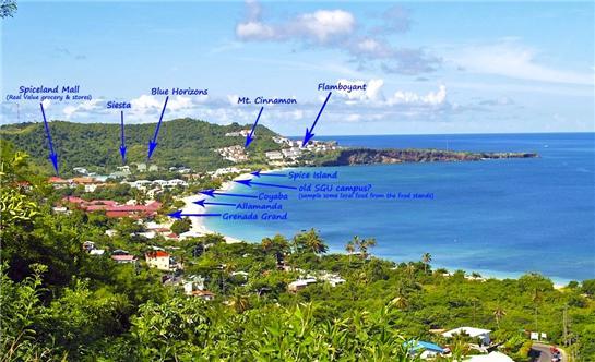 Cinnamon Beach Resort Map on
